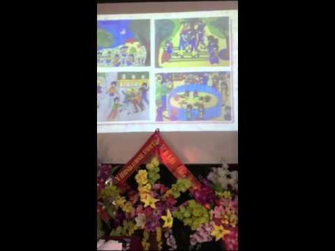 Tiết 23 Bài 25  Vẽ tranh đề tài trờ chơi dân gian Mĩ thuật 7(Nguyễn Thị Vân Khánh)