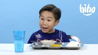 School Lunches | American Kids Try Food From Around the World | Ep 2
