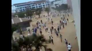 L'Université Cheikh Anta Diop transformée en champ de bataille