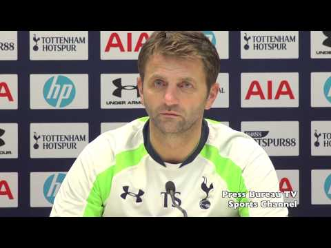 Tim Sherwood pre Arsenal vs Tottenham FA Cup