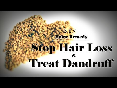 DIY Hair Mask - Stop Hair Loss and Treat Dandruff