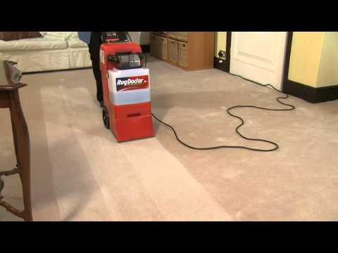 how to work a rug doctor