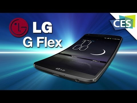 LG's G Flex: A Smartphone With A Curved Flexible Display