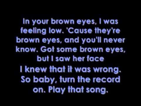 Lady Gaga - Brown Eyes - Lyrics on screen - YouTube