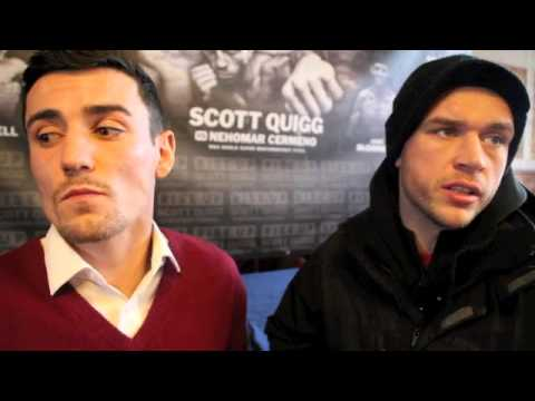 EXCLUSIVE! - ANTHONY CROLLA & JOHN MURRAY TALK TO iFL TV AHEAD OF MANCHESTER DERBY ON APRIL 19TH.