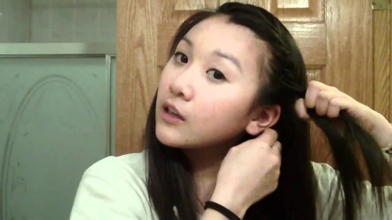 fast and easy elegant hairstyles for school ! - YouTube