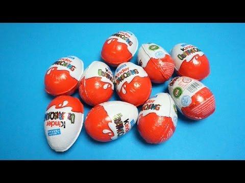 Bóc trứng socola Kinder Surprise Eggs với quà tặng bất ngờ Chuột túi Kangaroo