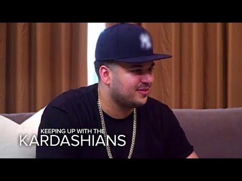 KUWTK | Kardashian Sisters Confront Rob About Surprise Engagement | E!