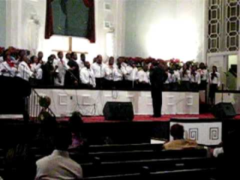 Alabama A & M Gospel Choir (On Christ the Solid Rock)