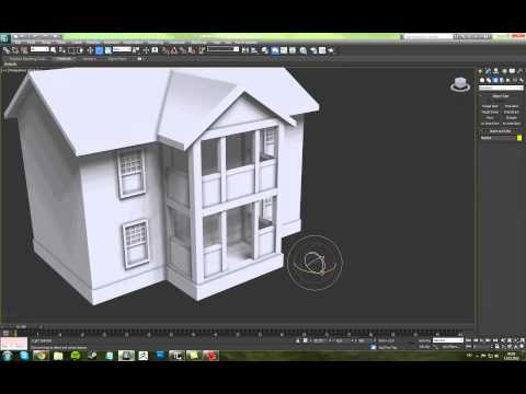3ds Max 2012 - House Modeling