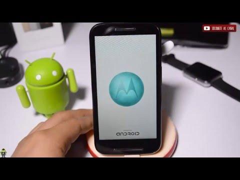 Instala o Actualiza Android 6.0.1 Moto E
