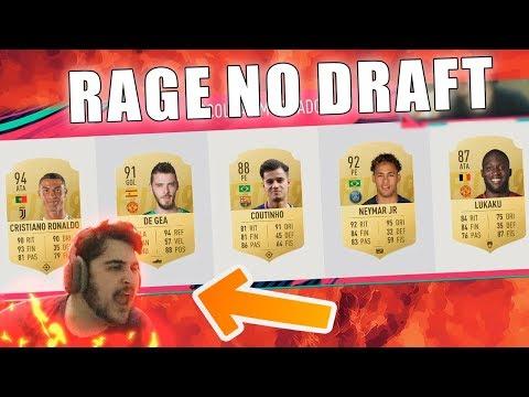 RAGE E FORTES EMOÇÕES NO FUT DRAFT DO FIFA 19 Ultimate Team