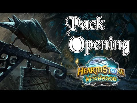 Witchwood Pack Opening | Golden Legendary | New Hearthstone Cards