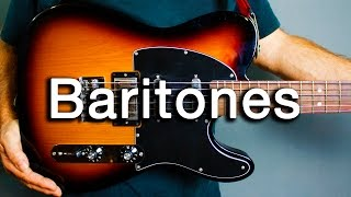 How to Play Ambient Guitar - Baritone Guitar Basics (Tips and Tricks)