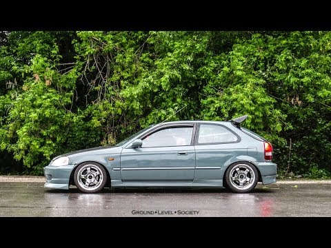 (TEASER) Kyle's Turbo EK Hatch | Ground Level Society