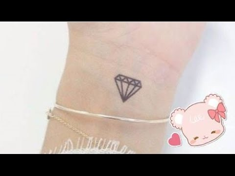Cách vẽ xăm giả bằng bút bi (Kim cương) - How to make fake tattoo ( Diamond )