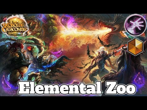 Gameplay Elemental Zoo Warlock Kobolds And Catacombs | Hearthstone Guide How To Play