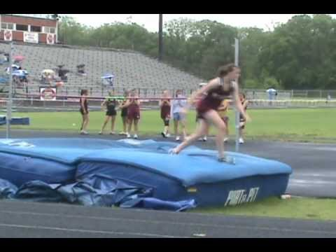 Middle School Girl  High Jumps 5ft - 7th Grade