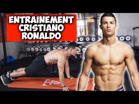 L'entrainement maison de Cristiano Ronaldo (11min brûle graisse)