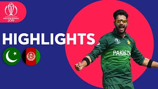 Pakistan Win in Last Over! | Pakistan vs Afghanistan - Match Highlights | ICC Cricket World Cup 2019
