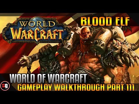 World Of Warcraft Walkthrough Part 111 - Intro Fiona