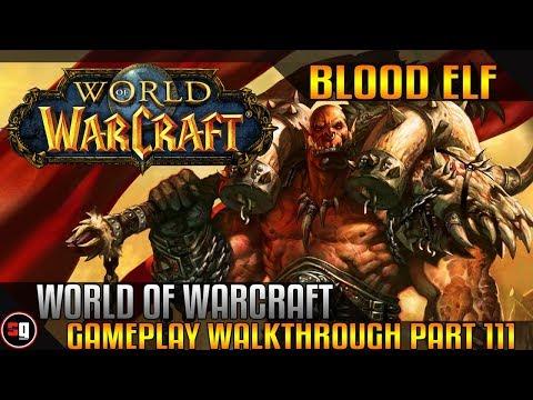 World Of Warcraft Walkthrough Part 111 - Intro Fiona