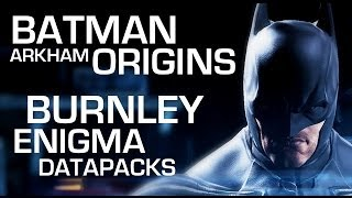 Batman: Arkham Origins Enigma Data Packs Burnley