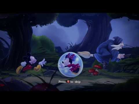 Castle of Illusion Starring Mickey Mouse 100% Walkthrough – Intro & Enchanted Forest – Act 1