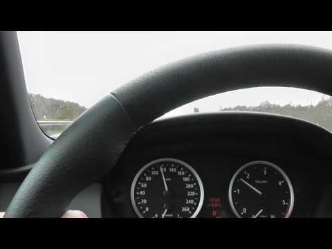 BMW E60 535d Beschleunigung 0- 200 Kmh