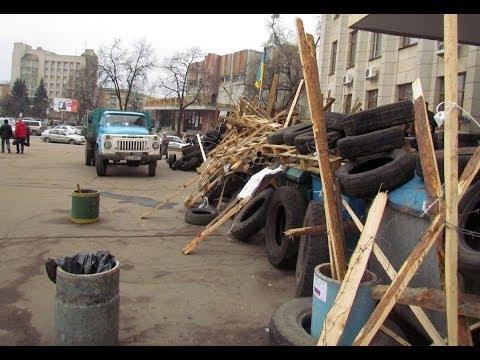 Евромайдан: 4 марта в Житомире разобрали баррикады возле ОГА