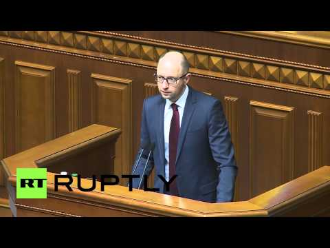 Ukraine: Yatsenyuk will not give up on gas dispute