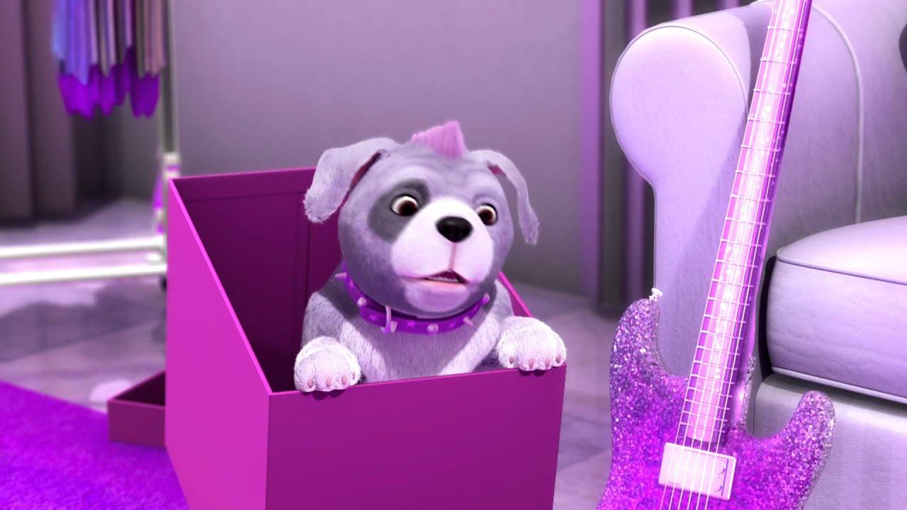 Barbie la princesse et la popstar clip musical youtube - Barbie la princesse et la pop star ...