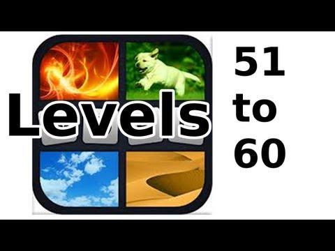 4 Pics 1 Word - Level 51 to 60 - Walkthrough