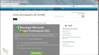 MS PROJECT 2013: DESCARGA E INSTALACIÓN OFICIAL. PROCESO
