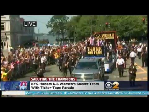 Fans Celebrate Soccer Stars