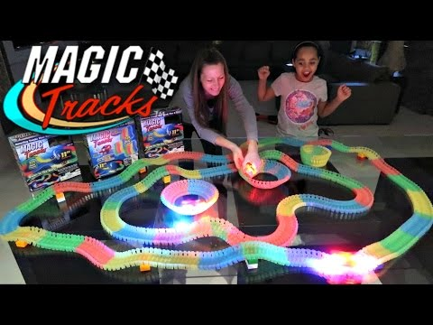 Crazy Car Magic Tracks Toy Challenge Games  They Glow In The Dark  Famtastic