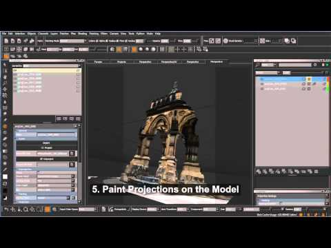 Matte Painting Photogrammetry Workflow - MARI Tutorial by Garrett Fry