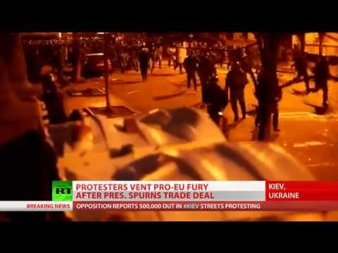 Uproar in Ukraine  'Push by West to create chaos   weaken ties with Russia