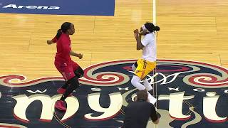 WNBA Teams Hold Dance-Off During Delayed Game!