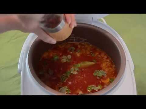 Philips Multicooker: Zupa pomidorowa