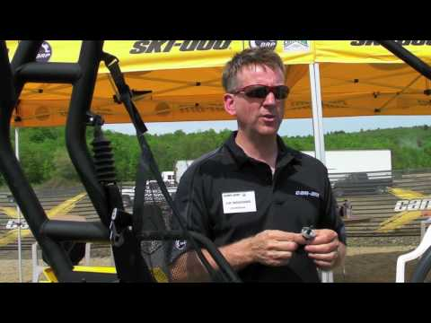 Can-Am Commander 1000 UTV Engineering Part 1 - A Look at the Commander UTV from CanAm