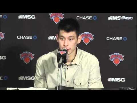 Jeremy Lin Postgame  Win vs. Mavs (2/19)