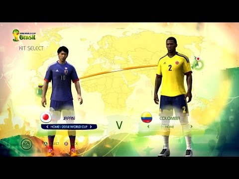 Japan v Colombia: World Cup simulator