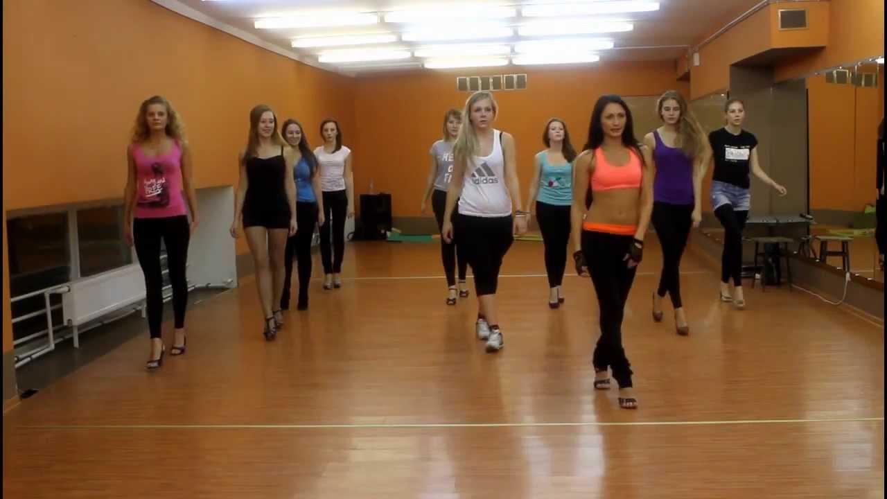 Видеоурок Go-Go (гоу-гоу) от сети танцевальных школ DIVA. Педагог Лилия Рябова.