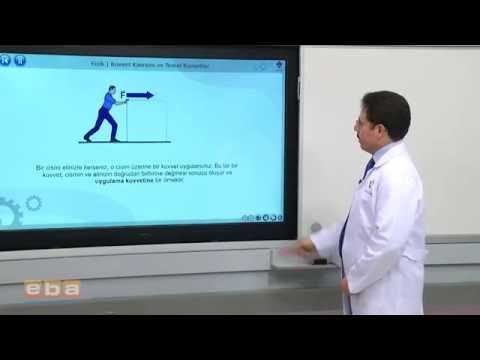Fizik 9 Sınıf Kuvvet Kavramı ve Temel Kuvvetler   1  konu anlatımı soru çözümü ygs lys deney animasy