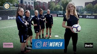 BE WOMEN: ENTRA IN ROSA   bwin + Gazzetta dello Sport con l'Inter Femminile e Astrid Ericsson!