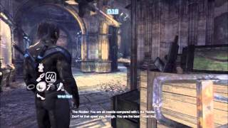 Batman Arkham City Nightwing Gameplay