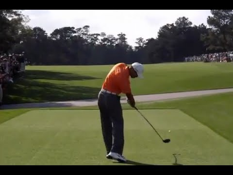 Tiger Woods, Rory McIlroy, Dustin Johnson & more - Masters Golf Tournament Highlights 2013 Practice
