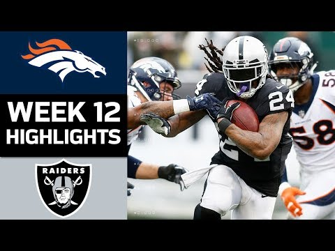 Broncos vs. Raiders | NFL Week 12 Game Highlights