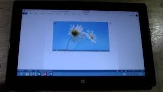 Surface Tablet: How To Take A Screen Capture
